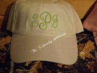Monogram Fancy Hat