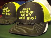 Just another Sexy Bald Guy Cap Hat Embroidered