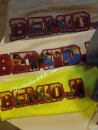 Bemidji Performance T-shirt with print in the letters