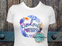 Kindness Matters Feather T-Shirt
