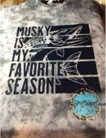 Musky is my Favorite Season T-Shirt