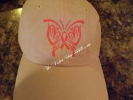 Breast Cancer Awareness Butterfly Ribbon