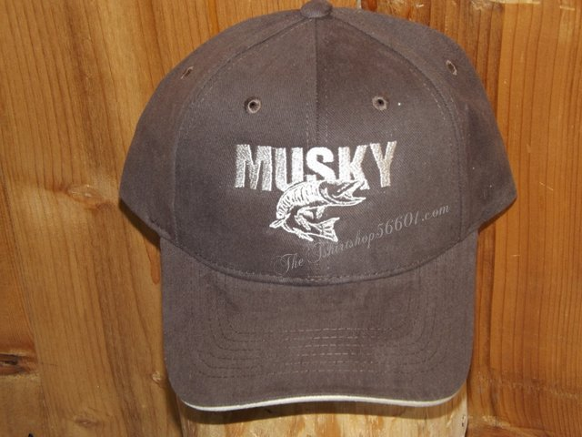 9466c2e2ee5e5 Musky One color Cap Hat Embroidered - The T-Shirt Shop 56601